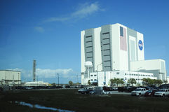 NASA building Stock Image
