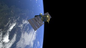 NASA-calipso stock illustratie