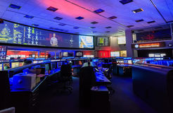 The Nasa command center. OCT 11, California: The Nasa command center on OCT 11, 2015 at NASA JPL, California Stock Image