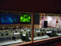 NASA Control Center. The original control center at Houston Space Center Stock Image