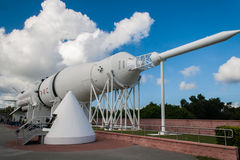 NASA di Saturn V Rocket fotografia stock