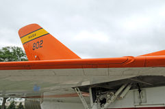 Nasa Douglas f5d skylancer aircraft wing and tail Royalty Free Stock Images