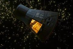 NASA - Fé 7 Mercury Spacecraft Foto de Stock Royalty Free