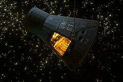 NASA - Geloof 7 Mercury Spacecraft Royalty-vrije Stock Foto