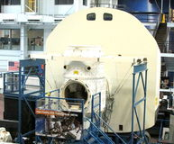 NASA High Fidelity EVA Training Area Under Construction * December, 2015 Royalty Free Stock Photos
