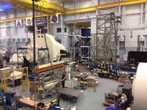 NASA. Houston NASA station with Orion royalty free stock images
