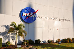 NASA Juan F Kennedy Space Center, la Florida Imagen de archivo