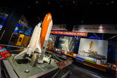 NASA Kennedy Space Center del transbordador espacial Fotografía de archivo libre de regalías