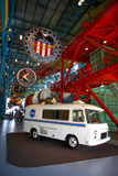 Nasa museum bus Royalty Free Stock Images