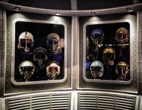 NASA. Piolet helmet history the future Royalty Free Stock Images