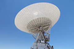 NASA's Goldstone 70 metres Deep Space Station. (DSS) - in the Mojave Desert, near Fort Irwin. This is the radio-antenna that keeps in touch with Voyager 1, the Royalty Free Stock Image
