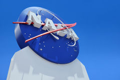 NASA's Logo Royalty Free Stock Photo