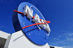 NASA's Logo Signage Stock Photos