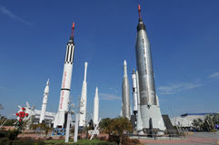 NASA's Rocket Garden Royalty Free Stock Photography