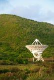 NASA-Satelliet op St Croix, de Maagdelijke Eilanden van de V.S. Stock Foto