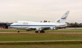 nasa sofia för 747sp boeing Royaltyfri Fotografi