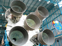 NASA som bygger Kennedy Space Center Florida Arkivfoton
