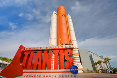 NASA Space Shuttle Atlantis Exhibit Royalty Free Stock Image