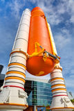 NASA Space Shuttle Atlantis Exhibit Stock Images