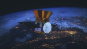 NASA TESS - Transiting Exoplanet ankiety satelitę royalty ilustracja