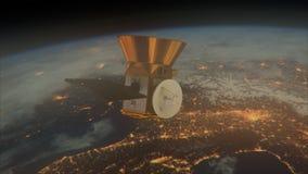 NASA TESS - Transiting Exoplanet ankiety satelitę ilustracja wektor
