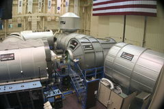 NASA Training Facility. At the Lyndon B Johnson Space Center stock photo