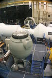 NASA Training Facility. Soyuz Module at NASA training facility at the Lyndon B Johnson Space Center stock photography
