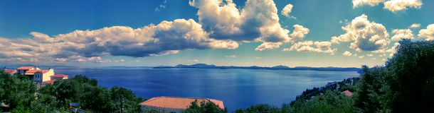 Nasaki greece Royalty Free Stock Photography