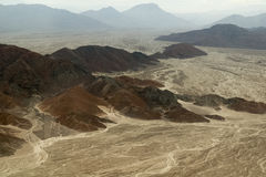 Nasca lines, Peru royalty free stock photography
