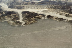 Nasca lines, Peru stock photo
