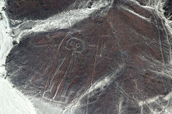 Nasca lines, Peru Royalty Free Stock Photo
