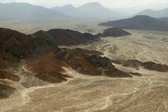 Nasca-Linien, Peru Lizenzfreie Stockfotografie