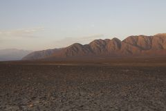 Nasca mountains Stock Images
