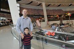 NASCAR光荣榜博物馆 库存照片