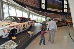 NASCAR光荣榜博物馆 图库摄影