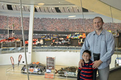 NASCAR光荣榜博物馆 免版税库存照片