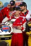 NASCAR在菲尼斯国际性组织Racew的胜利车道 免版税库存图片