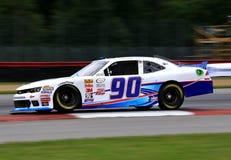 NASCAR赛车手安迪Lally 库存照片