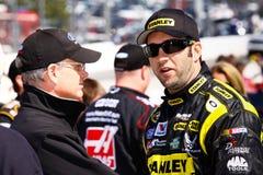 NASCAR驱动器Elliott前Sadler种族 库存图片