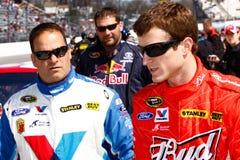 NASCAR驱动器Kasey Kahne所有商业 免版税库存照片