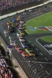 NASCAR - ¡Va el verde! Fotos de archivo