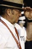 NASCAR-ägarestålar Roush och hans hatt Royaltyfri Bild