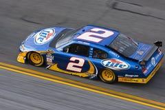 NASCAR : Échange de tirs du 4 février Budweiser images libres de droits