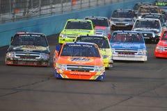 NASCAR światu ciężarówki Campingowe serie Obrazy Royalty Free