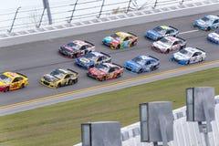 NASCAR: Διαφωνία μερών αυτοκινήτου προόδου στις 19 Φεβρουαρίου σε Daytona Στοκ Εικόνα
