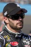 NASCAR οδηγός Jimmie Johnson στοκ φωτογραφία
