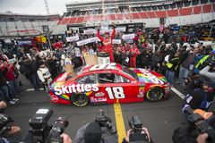 NASCAR: Πόλη 500 τροφίμων στις 16 Απριλίου Στοκ Εικόνα