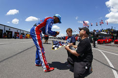 NASCAR: Στις 9 Ιουνίου Pocono 400 Στοκ Φωτογραφία