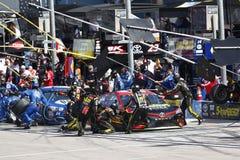 NASCAR: Στις 12 Μαρτίου Kobalt 400 Στοκ Εικόνα