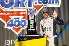 NASCAR: Στις 14 Σεπτεμβρίου MyAFibStory COM 400 Στοκ Εικόνα